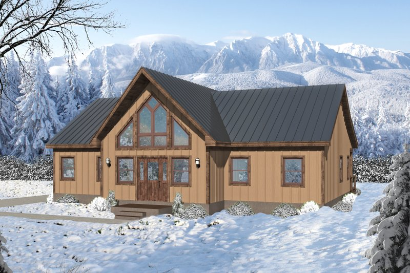 Home Plan - Country Exterior - Front Elevation Plan #932-400