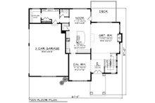 Prairie Floor Plan - Main Floor Plan Plan #70-1283