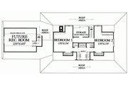 Southern Style House Plan - 3 Beds 2 Baths 2268 Sq/Ft Plan #137-245 Floor Plan - Upper Floor Plan