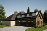 Craftsman Style House Plan - 3 Beds 3.5 Baths 3054 Sq/Ft Plan #923-168 Exterior - Other Elevation