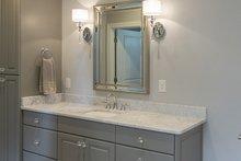 Ranch Interior - Master Bathroom Plan #929-1005