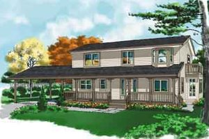 Traditional Exterior - Front Elevation Plan #118-110