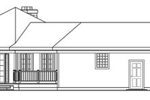 Home Plan - Country Exterior - Other Elevation Plan #124-169