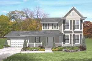 Traditional Exterior - Front Elevation Plan #50-267