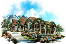 House Plan Design - Craftsman Exterior - Front Elevation Plan #5-330