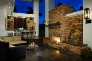 Modern Style House Plan - 4 Beds 4.5 Baths 5555 Sq/Ft Plan #420-172 Exterior - Outdoor Living
