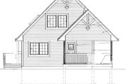 Cabin Style House Plan - 3 Beds 2 Baths 1370 Sq/Ft Plan #118-113 Exterior - Front Elevation