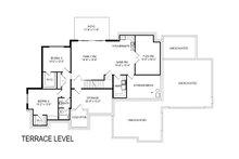 European Floor Plan - Lower Floor Plan Plan #920-107