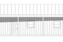 Contemporary Exterior - Other Elevation Plan #932-85