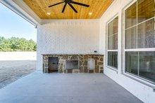 Architectural House Design - Outdoor Kitchen