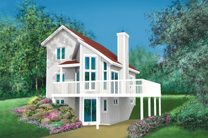 Traditional Exterior - Front Elevation Plan #25-2285