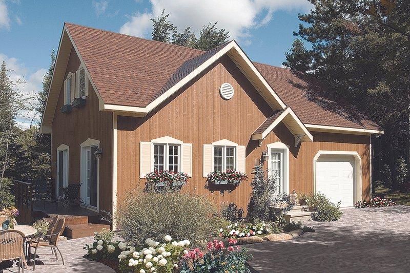 Home Plan - Cottage Exterior - Front Elevation Plan #23-2146