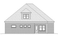 Country Exterior - Rear Elevation Plan #932-273