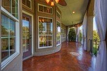 Dream House Plan - Mediterranean Exterior - Covered Porch Plan #80-184