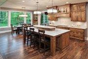 Craftsman Style House Plan - 3 Beds 3 Baths 5121 Sq/Ft Plan #51-581 Interior - Kitchen