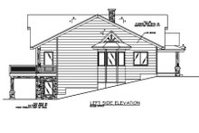 Dream House Plan - Exterior - Other Elevation Plan #117-467