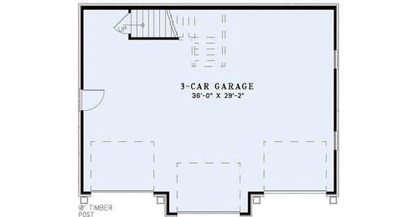 European Floor Plan - Main Floor Plan #17-2580