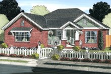 Home Plan - Traditional Exterior - Front Elevation Plan #513-2062