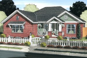House Design - Traditional Exterior - Front Elevation Plan #513-2062