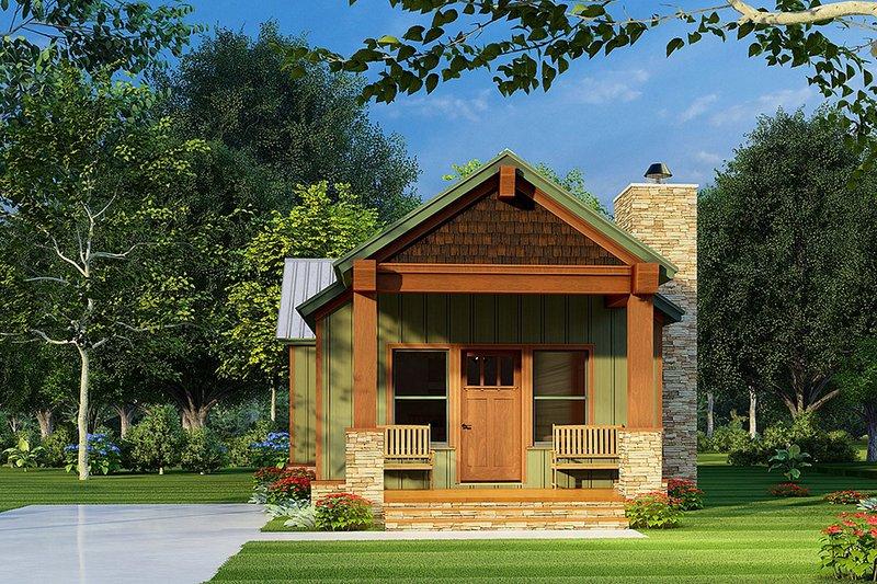 House Plan Design - Craftsman Exterior - Front Elevation Plan #923-222