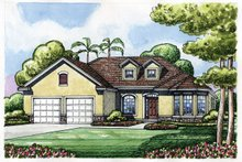 House Plan Design - Traditional Exterior - Front Elevation Plan #20-2186