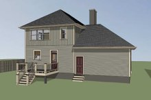 Southern Exterior - Other Elevation Plan #79-201