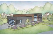 Contemporary Style House Plan - 3 Beds 2.5 Baths 2739 Sq/Ft Plan #928-343
