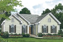Dream House Plan - Traditional Exterior - Other Elevation Plan #453-41