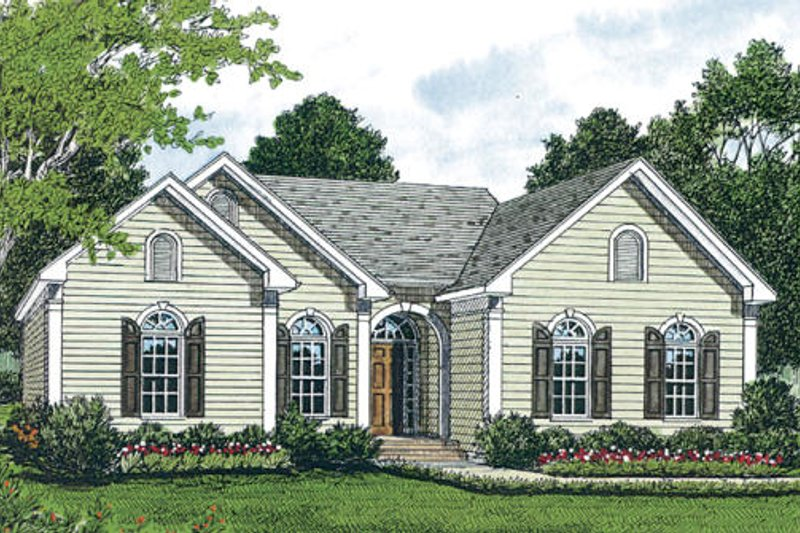 Traditional Exterior - Other Elevation Plan #453-41 - Houseplans.com
