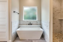 Architectural House Design - Plan 1067-1 Master Bath Tub