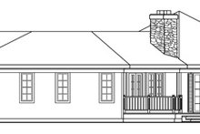 Country Exterior - Other Elevation Plan #124-169