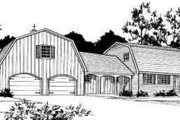 Farmhouse Style House Plan - 3 Beds 2.5 Baths 2071 Sq/Ft Plan #312-477 Exterior - Front Elevation