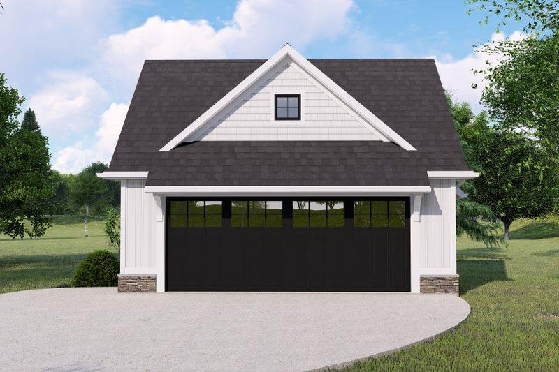 House Design - Farmhouse Exterior - Front Elevation Plan #1064-147