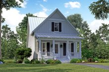 Architectural House Design - Cottage Exterior - Front Elevation Plan #430-117