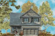 European Style House Plan - 3 Beds 3 Baths 2002 Sq/Ft Plan #20-1657 Exterior - Front Elevation