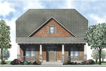 Bungalow Exterior - Front Elevation Plan #17-2408