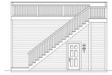 Contemporary Exterior - Rear Elevation Plan #932-231