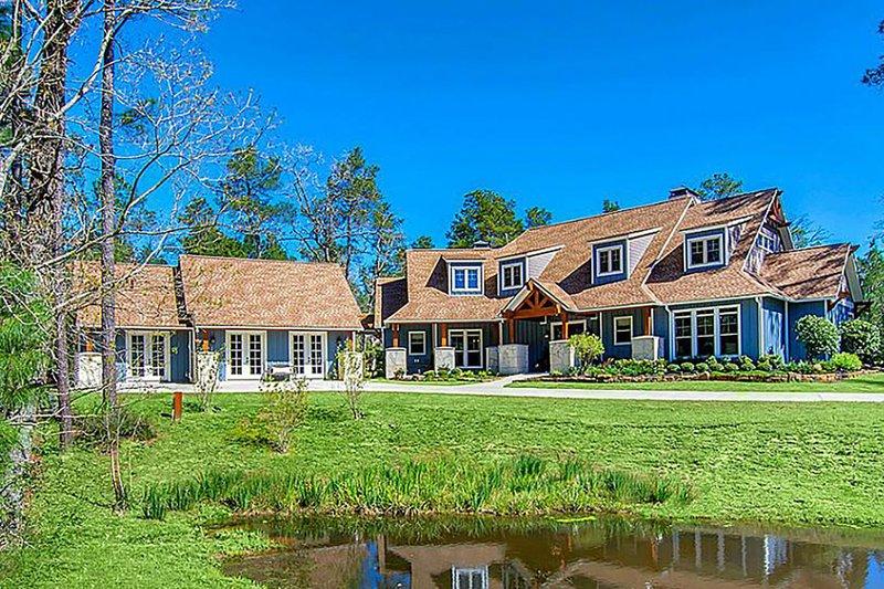House Plan Design - Craftsman Exterior - Front Elevation Plan #17-2444