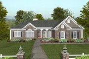 Traditional Style House Plan - 4 Beds 3.5 Baths 2000 Sq/Ft Plan #56-573