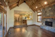 Craftsman Style House Plan - 4 Beds 2.5 Baths 3542 Sq/Ft Plan #899-1 Interior - Family Room