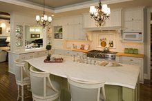 Traditional Interior - Kitchen Plan #56-604