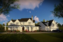 House Plan Design - Country Exterior - Front Elevation Plan #70-1488
