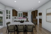 Traditional Style House Plan - 3 Beds 2.5 Baths 2199 Sq/Ft Plan #1060-100 Interior - Dining Room