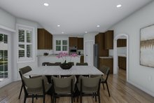 Architectural House Design - Traditional Interior - Dining Room Plan #1060-100