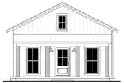 Farmhouse Style House Plan - 1 Beds 1 Baths 732 Sq/Ft Plan #430-257
