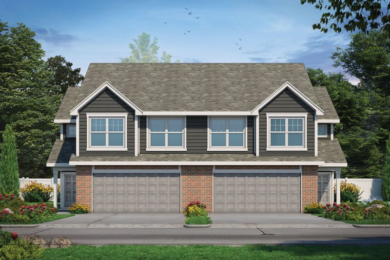 Home Plan - Traditional Exterior - Front Elevation Plan #20-2466