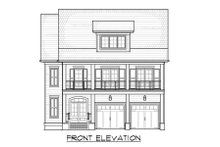 Architectural House Design - Craftsman Exterior - Front Elevation Plan #1054-33
