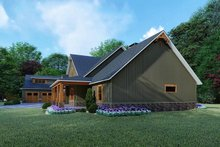 Craftsman Exterior - Other Elevation Plan #923-121