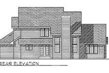 Traditional Exterior - Rear Elevation Plan #70-294