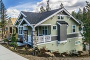 Craftsman Style House Plan - 2 Beds 1 Baths 980 Sq/Ft Plan #895-55